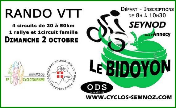 Rando VTT Le Bidoyon