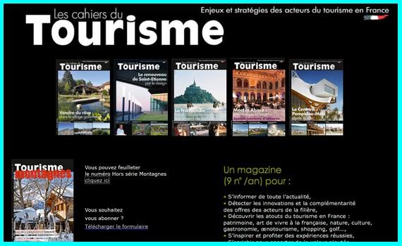 Cahiers Tourisme