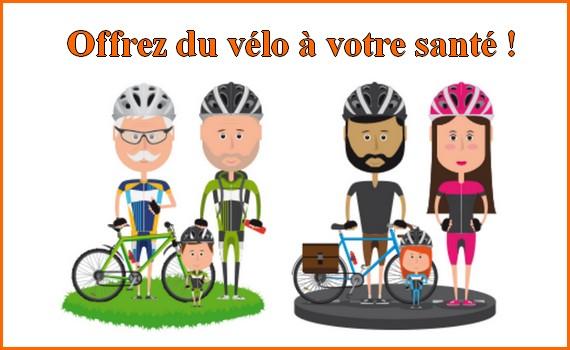 Offrez du vélo à votre santé
