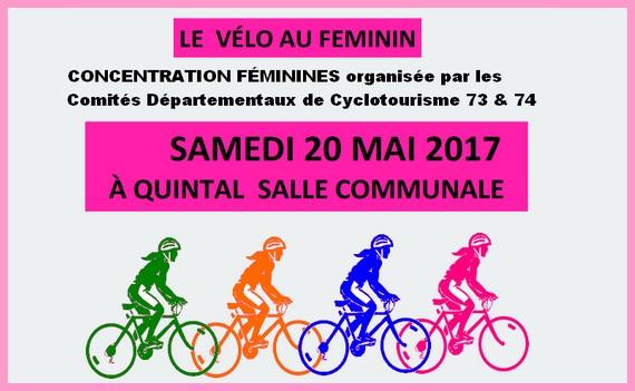 Le vélo au Féminin