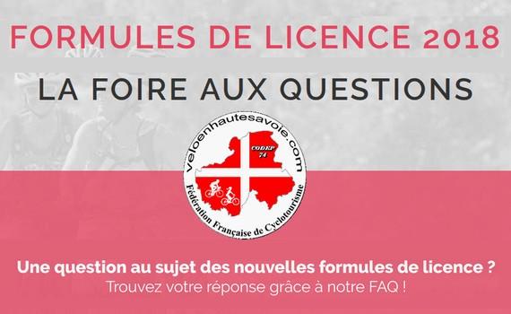 Licences 2018