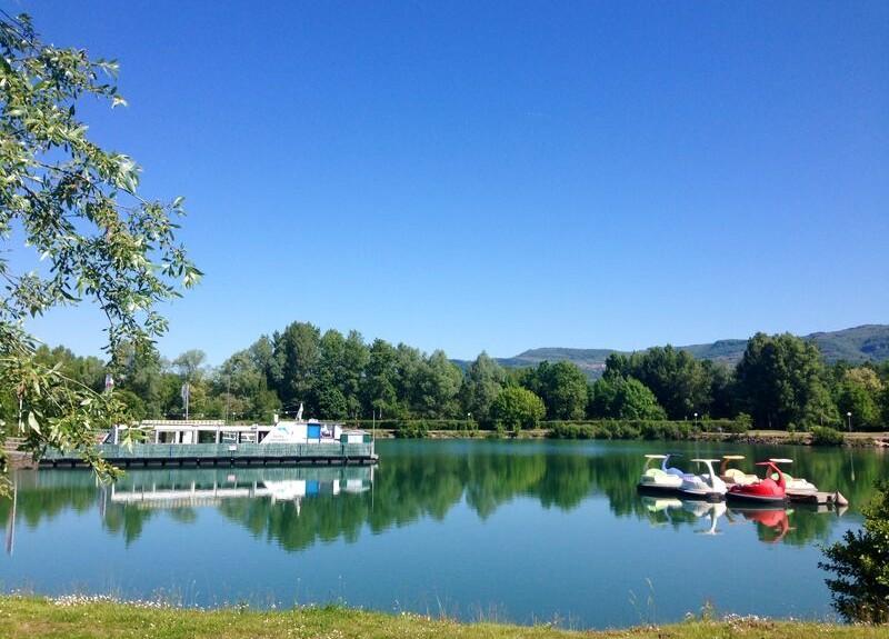 Base de VTT de randonnée de la Vallée Bleue