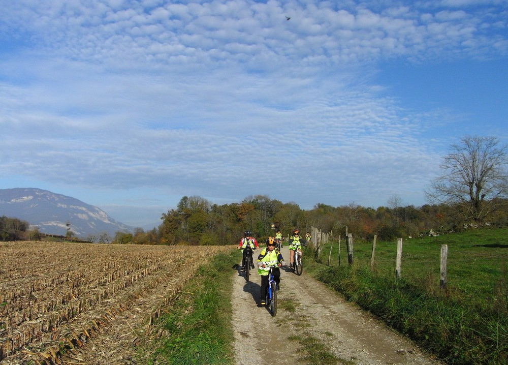 Base VTT et vélo route de Belley Bugey